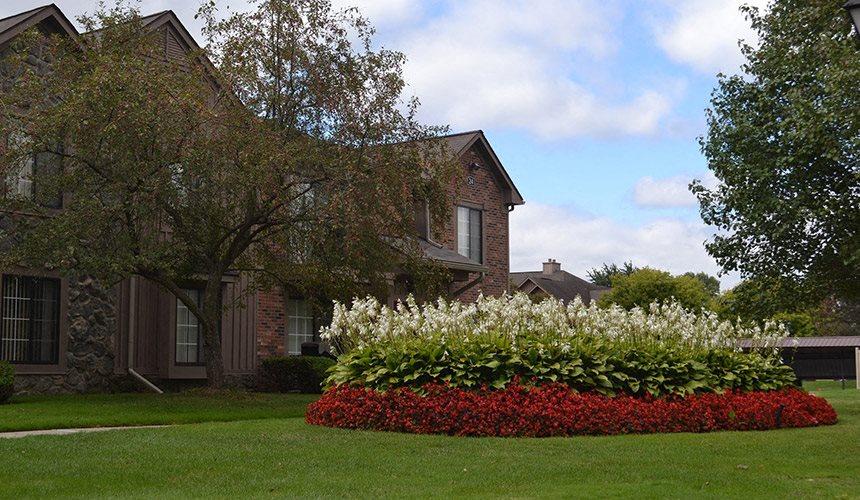 Beautiful Garden at Pilgrim Village - Canton, MI, Michigan