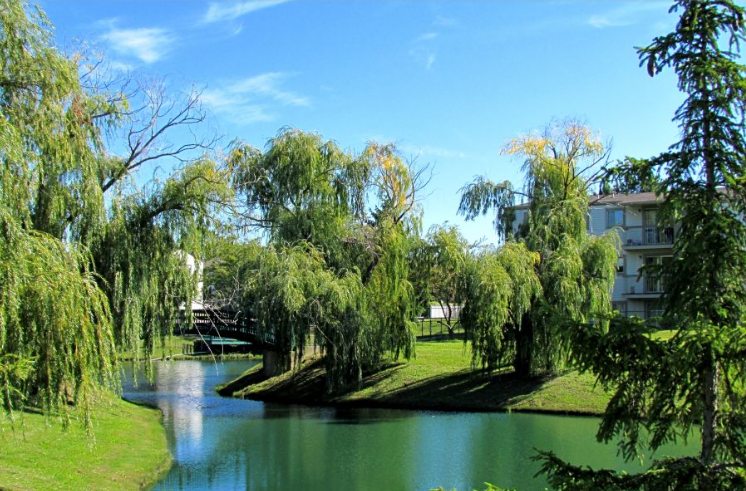 Sterling Heights, MI Sterling Lake Apartments & Townhomes Lake