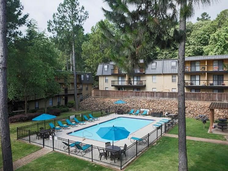 Swimming Pool at Vantage Point Apartments