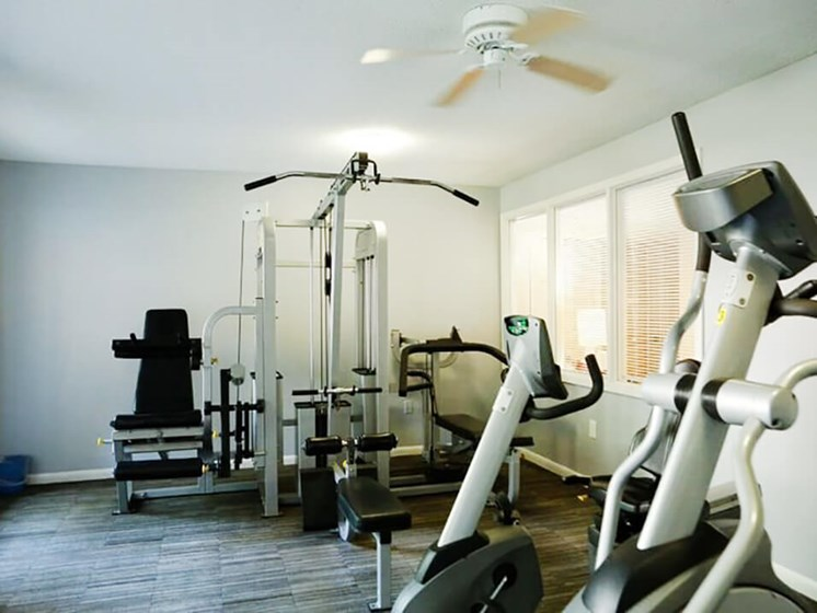 Fitness Center at Vantage Point Apartments