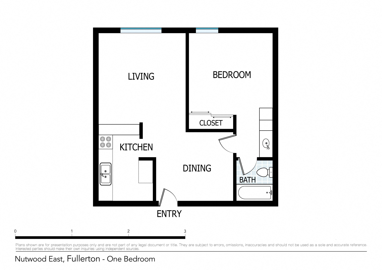Floor Plans Of Nutwood East Apartments In Fullerton Ca
