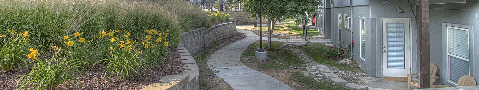 Meandering Pathway at Briar Hills, Omaha, NE 68118