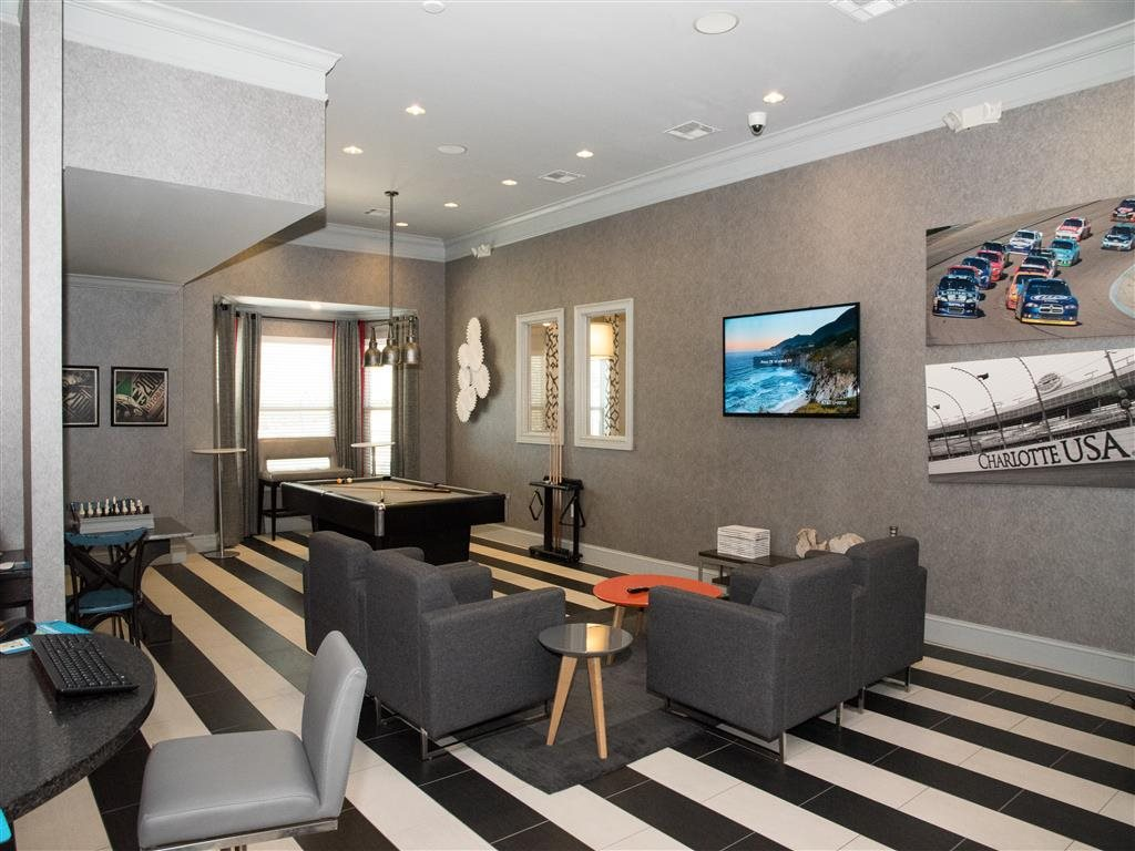 luxurious clubhouse