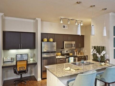 Two Bedroom granite countertops