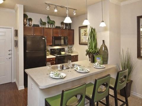 Sabine open kitchen