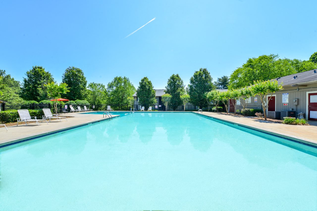 Sparkling Swimming Pool | Low prices | The Village at Wesley Chapel Apartment Homes | Decatur, GA 30034