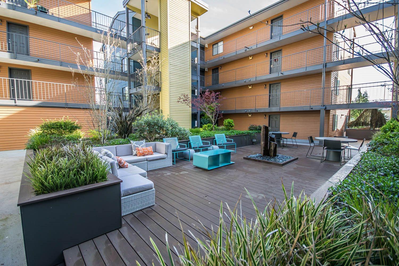 outdoor social area