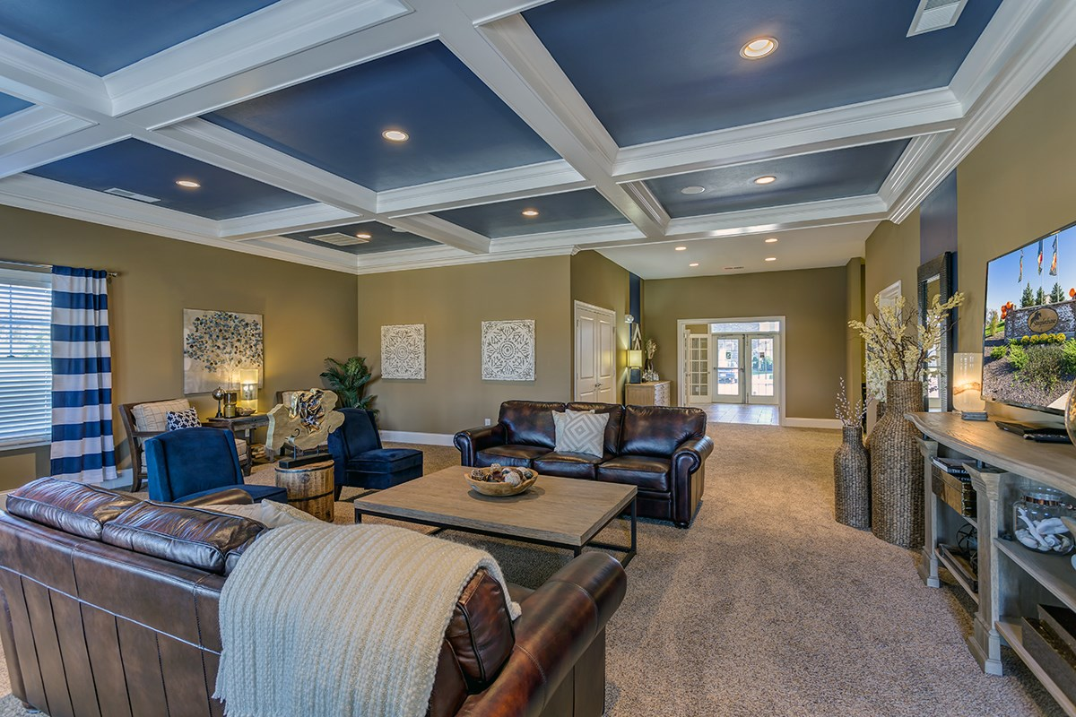 Clubhouse at Steeplechase at Parkview Apartments in Fort Wayne, IN