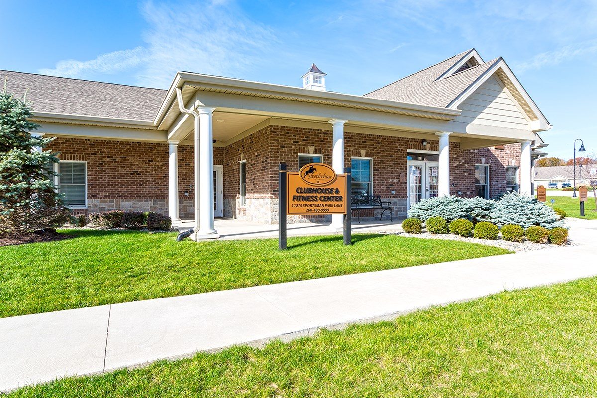 Exterior at Steeplechase at Parkview Apartments in Fort Wayne, IN