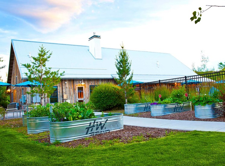 Courtyard With Green Space at Mullan Reserve, Montana