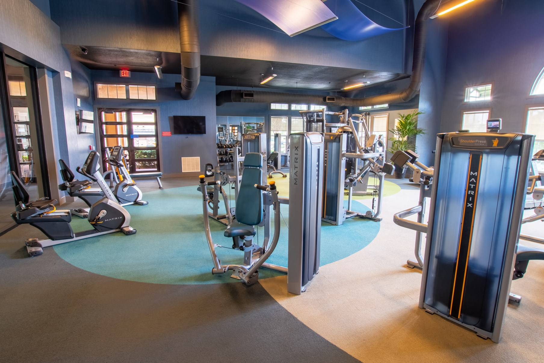Fitness Center at Park Place Apartments