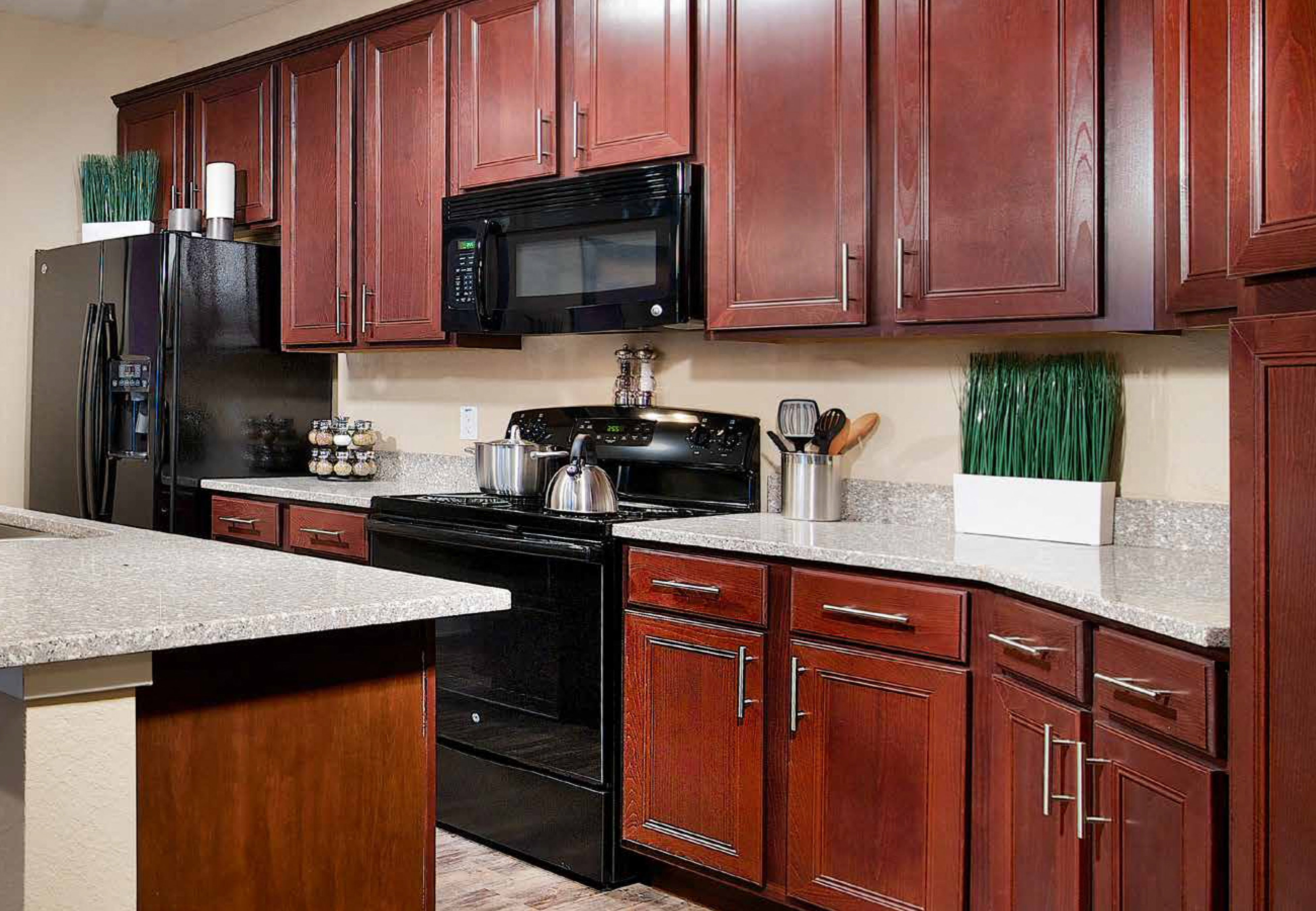 Kitchen at Park Place Apartments in Oviedo, FL