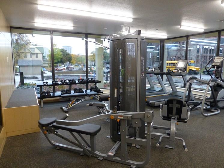 Fitness Center; Free weights; equipment