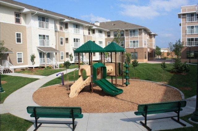 Onsite park with Tot Lot