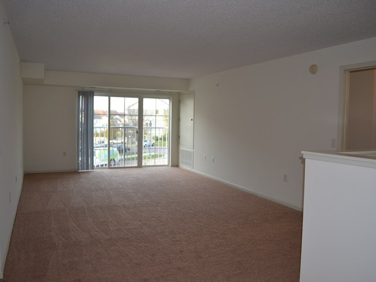 Large Living Room Off the Kitchen