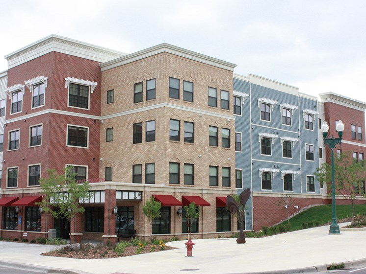 Corner View of Building