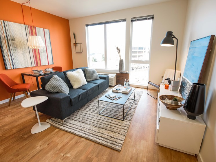 The Union Portland OR Living room