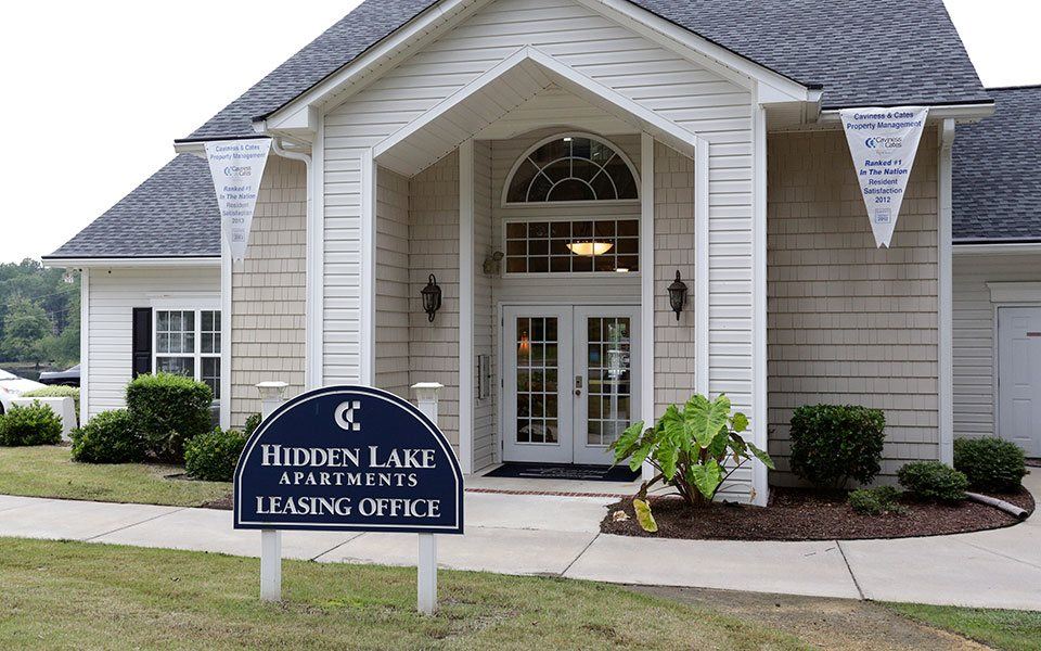 Leasing Office at Hidden Lake Apartments, Fayetteville, NC 28304