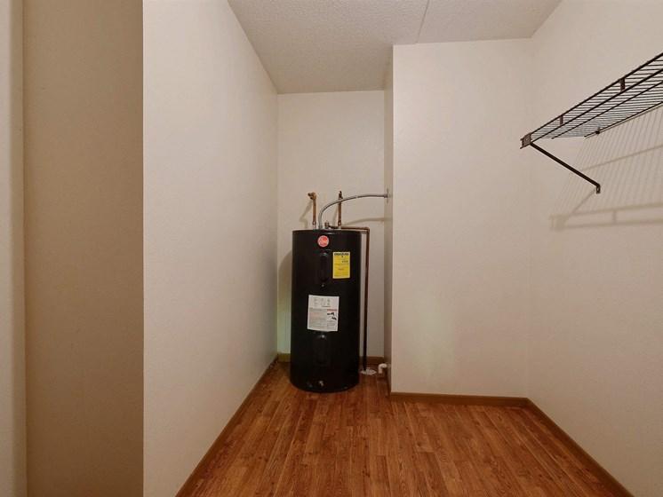 France Apartments | 3 Bedroom | Storage Closet