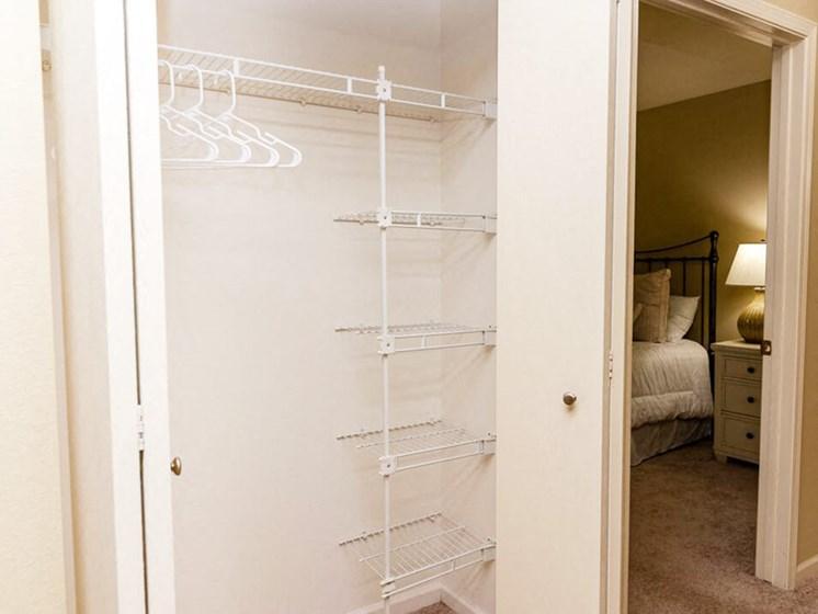 Linen Closet in Kentwood apartment