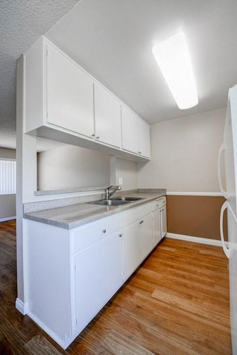 The Palms Apartments Empty Apartment Kitchen