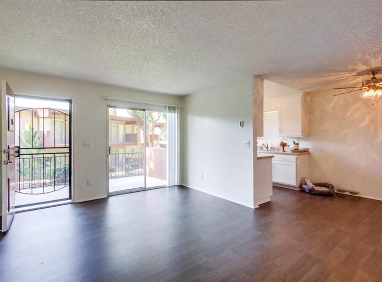 Open and bright floor plan Mesa Vista Apartments