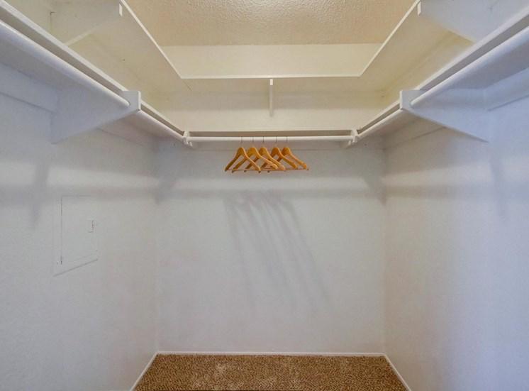 Spacious closet - Mesa Vista Apartments