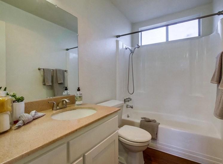 Bathroom view - Mesa Vista Apartments