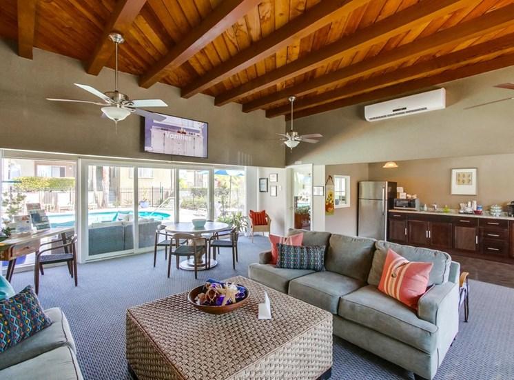 Clubhouse at Mesa Vista Apartments
