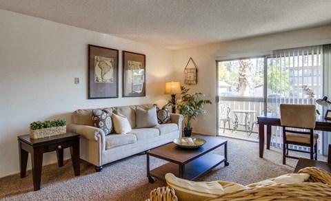 Shasta Lane Apartments Furnished Apartment Living Room