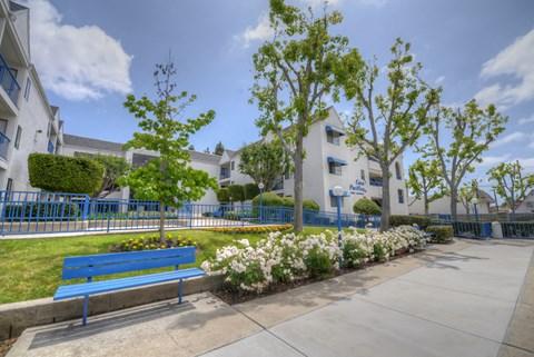Casa Pacifica Senior Apartment Homes Exterior View