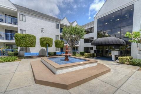 Casa Pacifica Senior Apartment Homes Exterior Fountain View