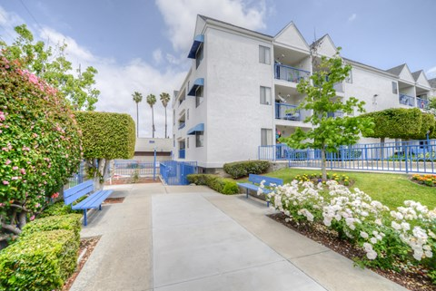 Casa Pacifica Senior Apartment Homes Exterior Building View
