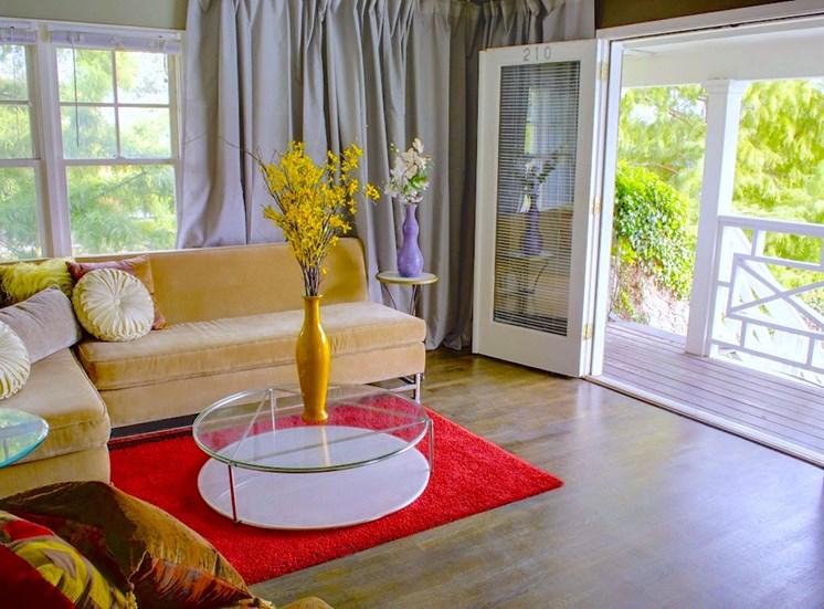 5121 Gaston Garden Villa Balcony