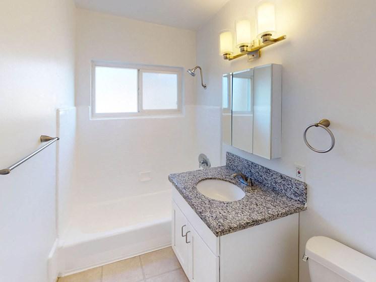 Bathroom at Sylvan Gardens, California