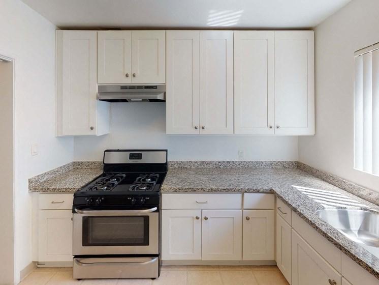 Kitchen Space at Sylvan Gardens, Van Nuys, CA