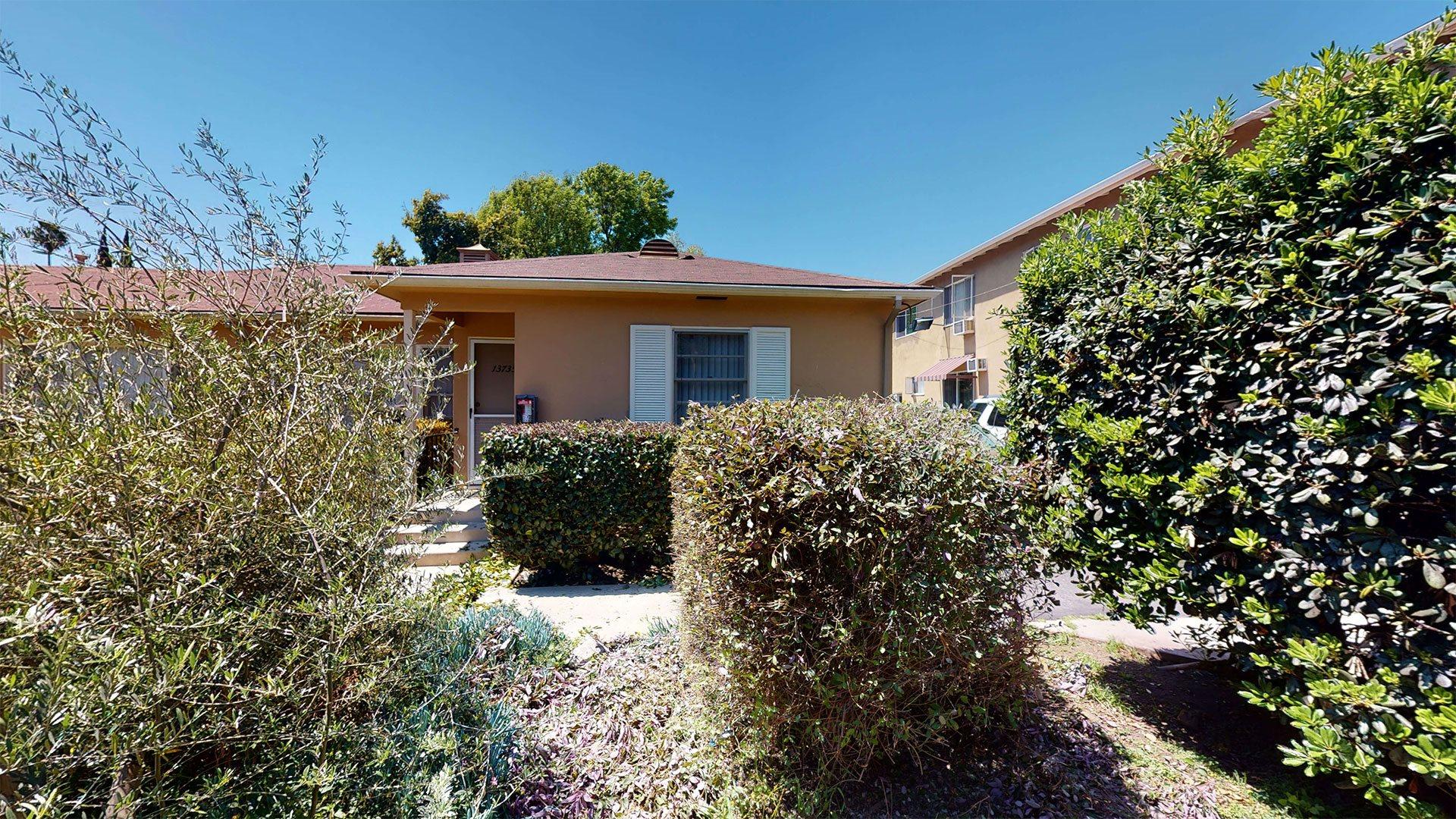 Manicured Garden And Plantings at Sylvan Gardens, California, 91401