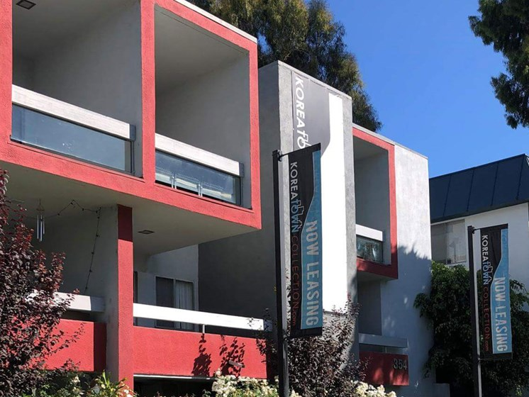 Property Exterior at City Park View, Los Angeles, CA, 90057