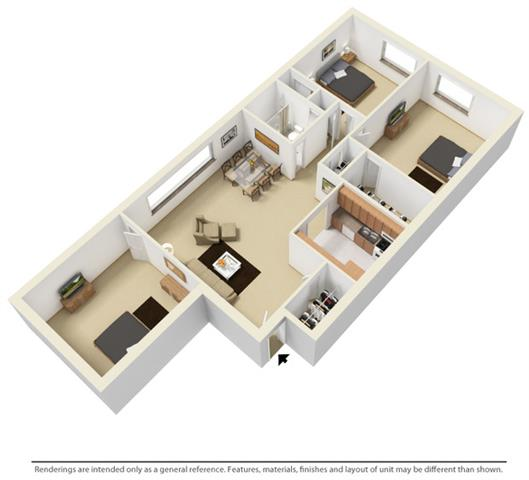 Floor Plans Of Edgewater Landing In Cleveland Oh