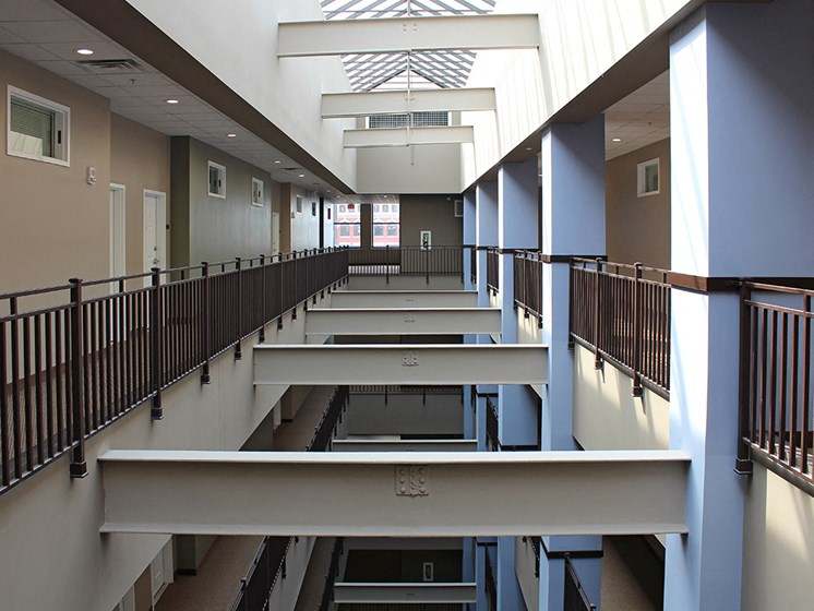 The Resideces at 668 - Residential Atrium at The Residences at 668, Cleveland, OH