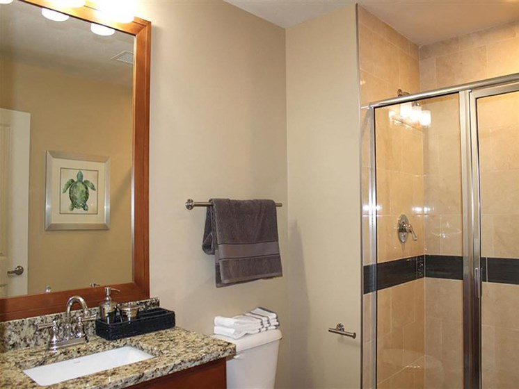 Upgraded Bathroom Fixtures at Residences At 1717, Cleveland, 44114