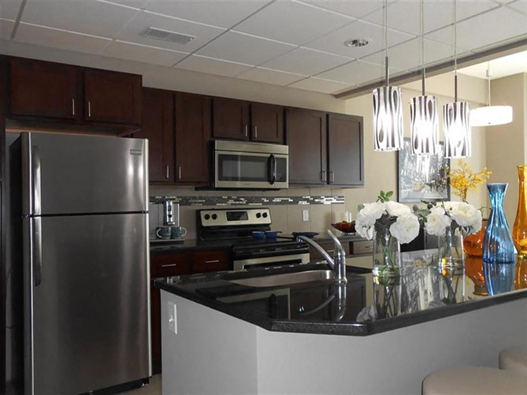 ENERGY STAR Rated Washers and Dryers in Each Suite at The Residences At Hanna, Ohio