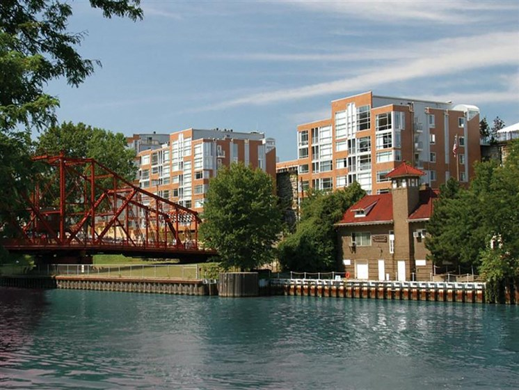 Breathtaking Lake View From Property at Stonebridge Waterfront, Cleveland, 44113
