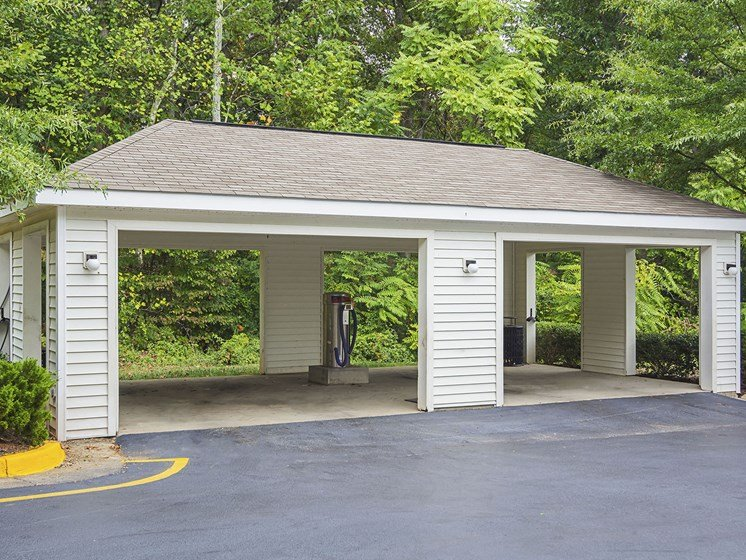 Car Wash Station at Ultris Courthouse Square Apartments in Stafford, Virginia, VA