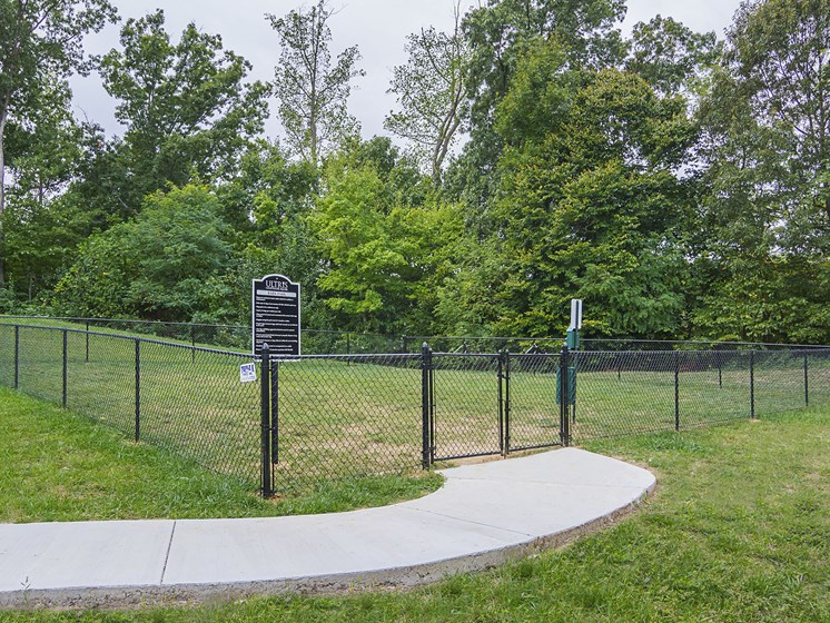 Dog Run at Ultris Courthouse Square Apartments in Stafford, Virginia, VA