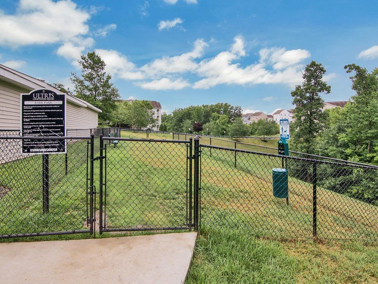 Dog Run at Ultris Courthouse Square Apartment Homes in Stafford, Virginia, VA