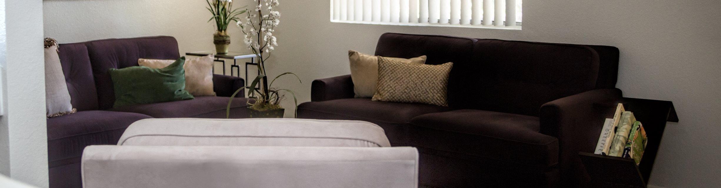Spacious Living Room with sofasat Sagewood Apartments, Cottonwood, Arizona
