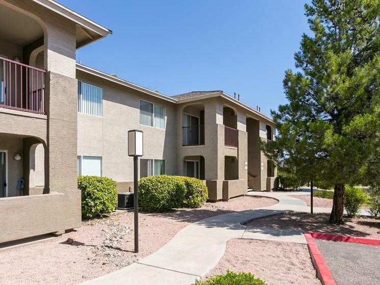 Sagewood Apartments side view at Sagewood Apartments, Cottonwood, AZ, 86326