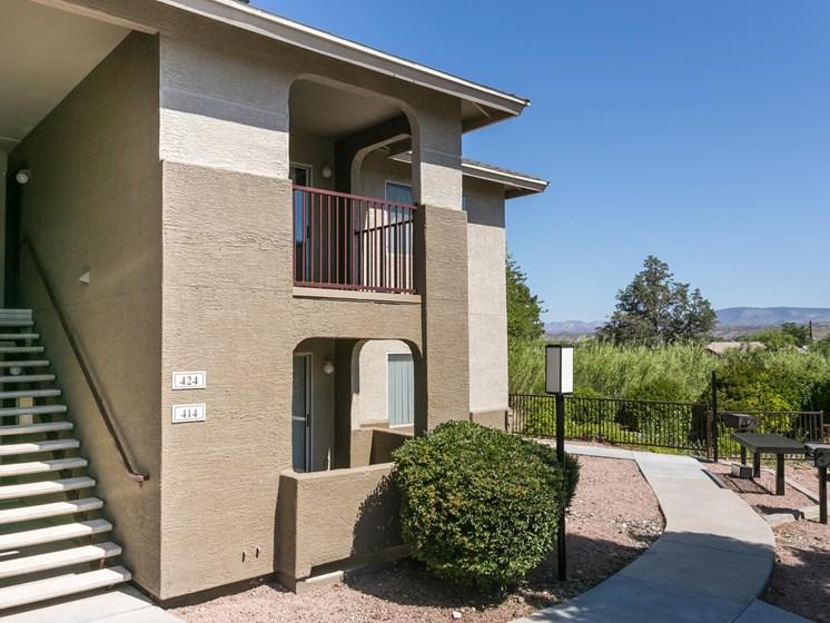 Entranceat Sagewood Apartments, Cottonwood, AZ