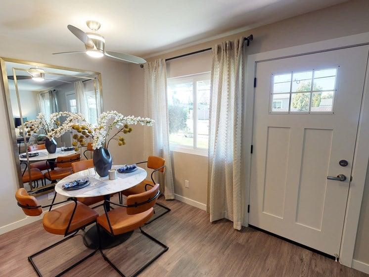 Vercanta Newport Beach   Newport Beach, CA   Dining Room & Entryway
